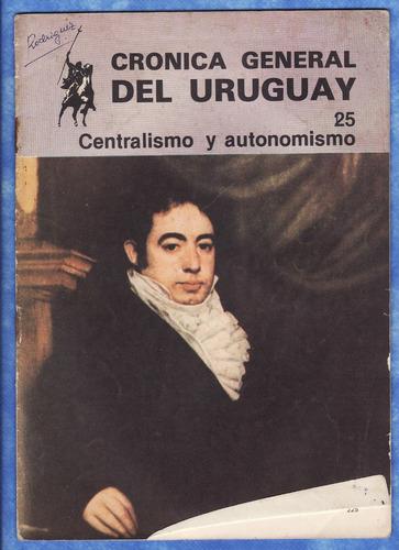 revista colleccionable - cronica general del uruguay-
