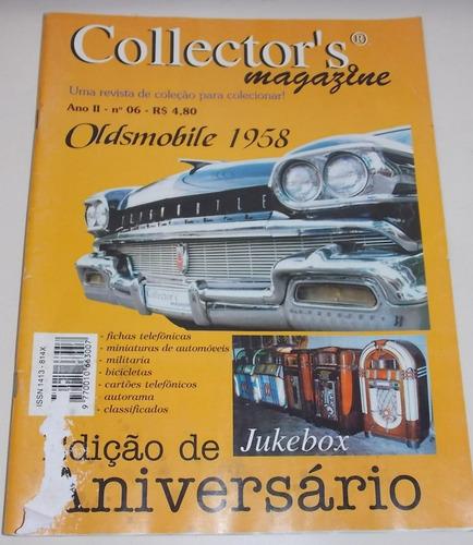 revista collector's magazine ano 2 número 6
