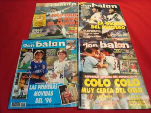 revista colo colo, 1995 al 1996, revista don balon (4)