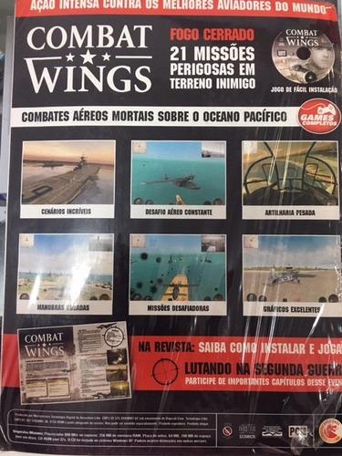 revista combat wings jogo completo ano3 #26 envio r$ 9,50