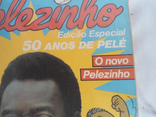 revista comemorativa aos 50 anos de pelé