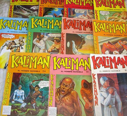 revista, comic, historieta kaliman