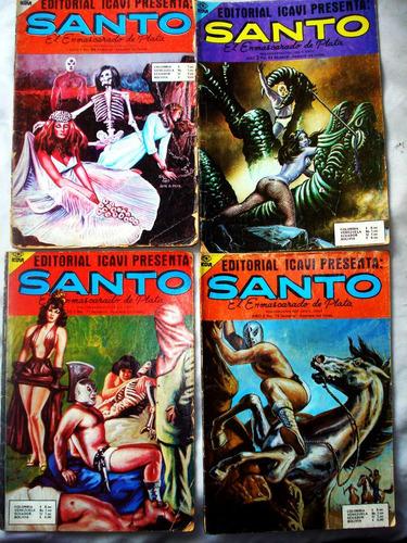 revista, comic, historieta  santo, el enmascarado de plata