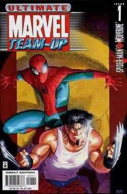revista comic marvel ultimate spiderman team-up # 1-7
