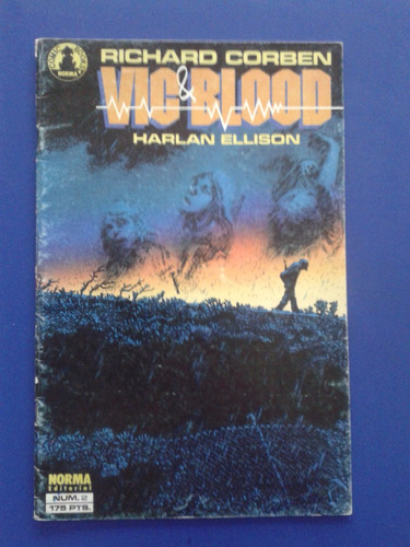 revista comic richard corben - vic blood