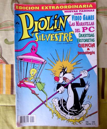 revista comic walt disney piolín y silvestre n°5/4 año 1994