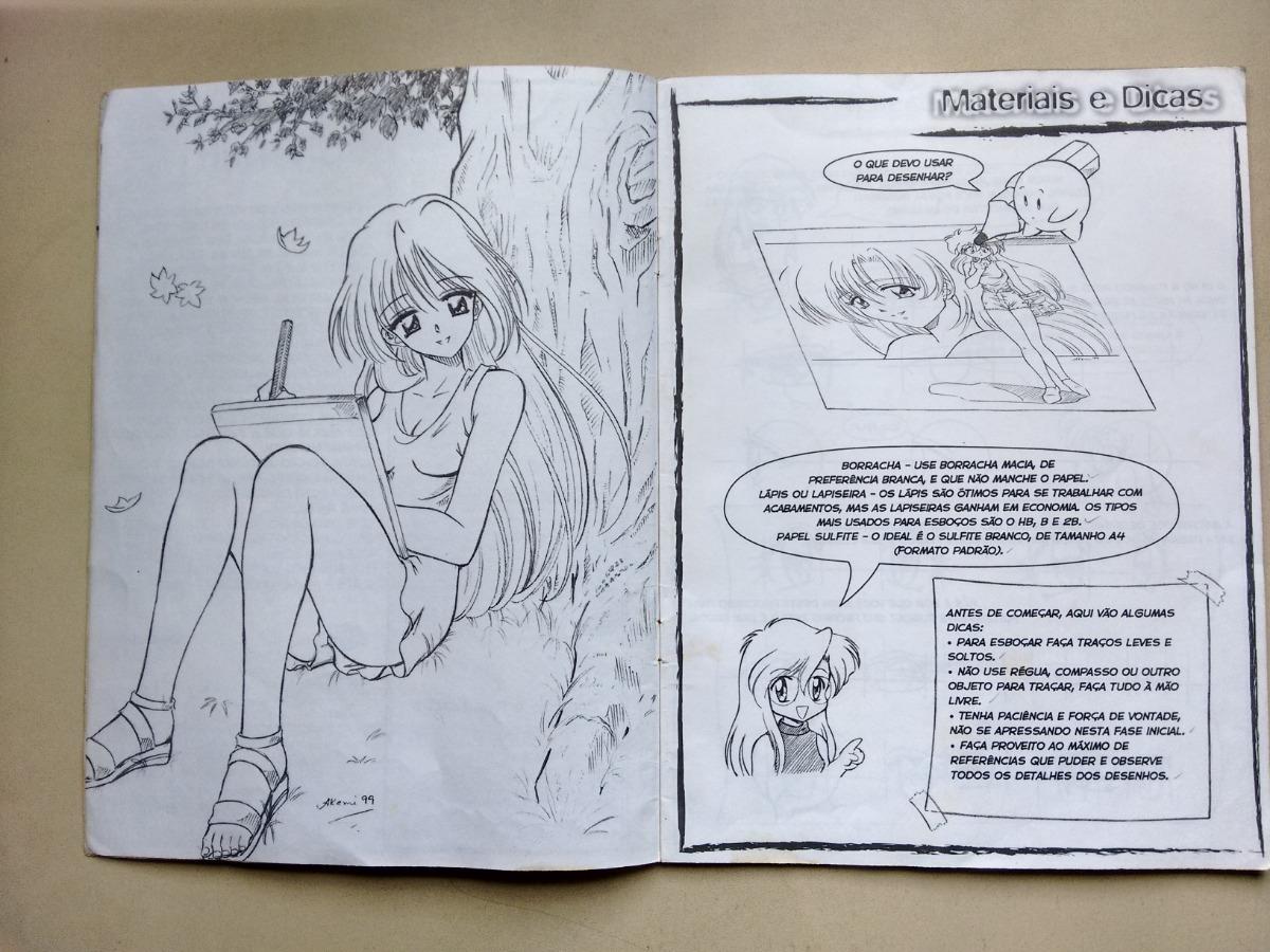 Revista Como Desenhar Manga 2 Mulheres Olhos Corpo D560 R 28 50