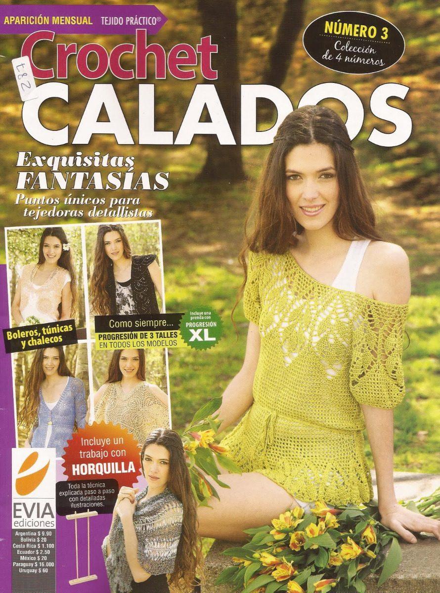 Revista Con Hermsoso Patrones En Crochet Para El Verano - Bs. 0,80 ...
