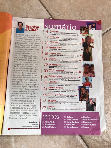 revista conta mais 829 luiza brunet leandro hassum bonner