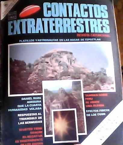 revista contactos extraterrestres #28, 1977