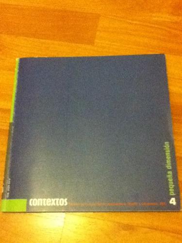 revista contextos 4 pequeña dimension