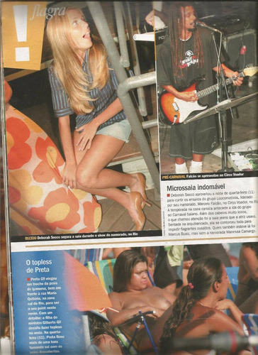 revista contigo 1583/2006 - alinne moraes/carolina ferraz