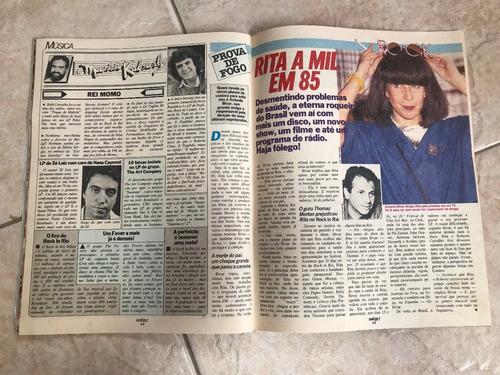 revista contigo 492 chegada de menudo e roberta close 1985