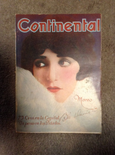 revista continental marzo 1929