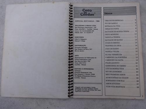 revista coro de cordas especial sertaneja - letras cifradas