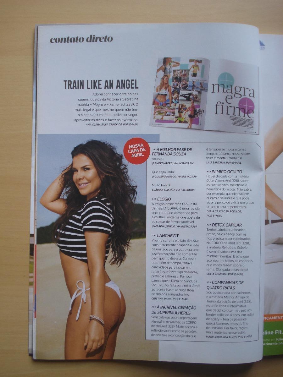 Revista Corpo A Corpo 329 Marina Ruy Barbosa Fernanda Souza - R  27 ... 372f76788c