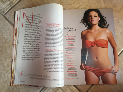 revista corpo a corpo ísis valverde ano 2009 n°249