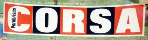 revista corsa 1231 especial rally balance 89 nacional mundia