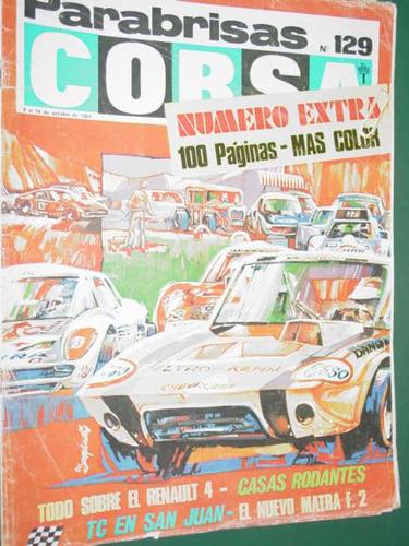 revista corsa 129 prueba renault 4 motos usadas ferrari 365