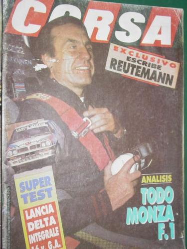 revista corsa 1314 super test carlos reutemann lancia rally