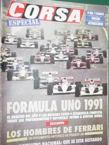 revista corsa 1331 especial formula uno 1991 senna ferrari