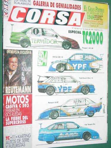 revista corsa 1439 especial tc 2000 reutemann cagiva ferrari