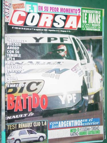 revista corsa 1460 test renault clio belloso motos karting f