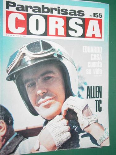 revista corsa 155 motos mv jim clarck hullman hunter casa