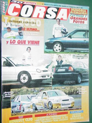 revista corsa 1568 test renault clio fase3 informe tc2000