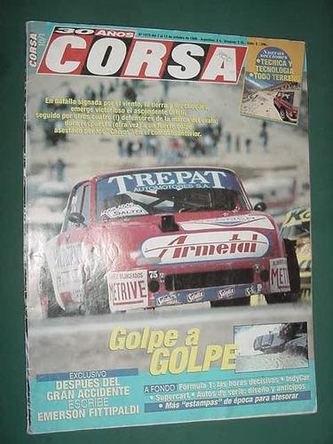revista corsa 1575 emerson fittipaldi indycar formula turism