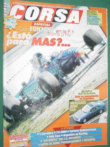 revista corsa 1618 test mercedes benz clk indy cars fontana