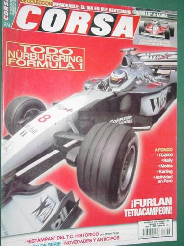 revista corsa 1678 formula 1 reutemann furlan tetracampeon