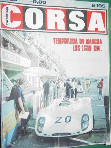 revista corsa 195 alfa romeo cupeiro formula ford mammuth