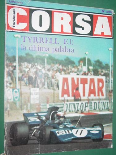 revista corsa 275 tyrrell ricotti alfa romeo loeffel di palm