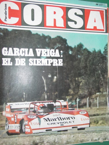 revista corsa 329 veiga reutemann vianini porsche canam moto