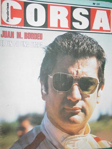 revista corsa 351 previa argentina bordeu stommelen garro