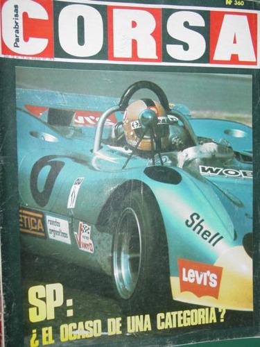 revista corsa 360 sport prototipo macri migliore zappegno
