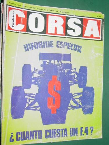 revista corsa 447 ferrea herceg mundial moto monoplaza berta