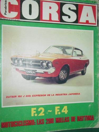 revista corsa 464 datsun motos daytona kyalami motonautica