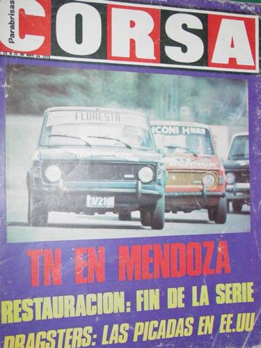 revista corsa 465 dragsters miami ruesch porsche garro mayor