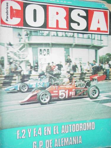 revista corsa 480 alemania reutemann ford gt silverstone f1