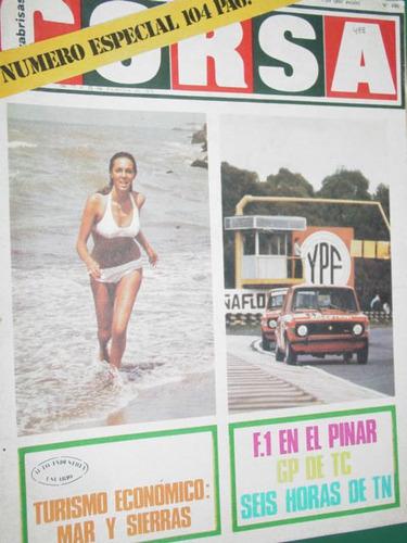 revista corsa 498 especial turismo buenos aires recalde