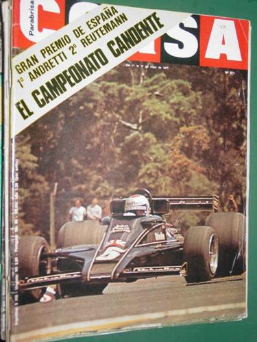 revista corsa 571 españa andretti reutemann stereos autos
