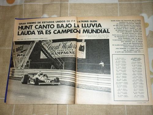 revista corsa 592 lauda campeon mundial f1 1977 brabham bt46