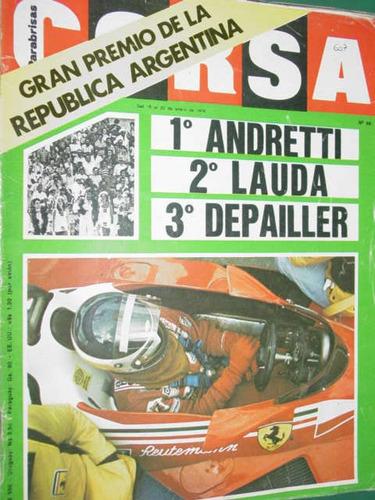 revista corsa 607 formula 1 gran premio republica argentina
