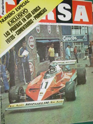 revista corsa 613 jackie stewart ferrari t3 prueba sudafrica