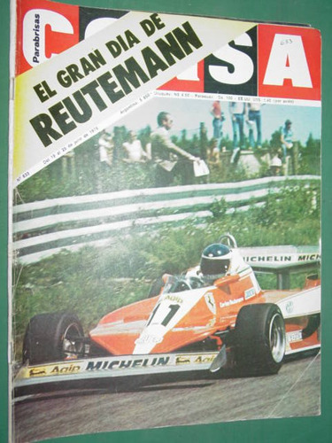 revista corsa 633 reutemann historia jeep chourrout renault