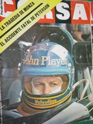 revista corsa 641 monza peterson ford mustang reutemann f1