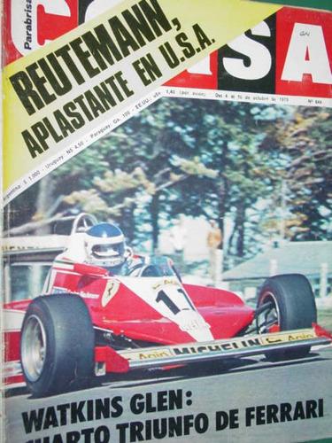 revista corsa 644 reutemann ferrari usa katayama chevron b42