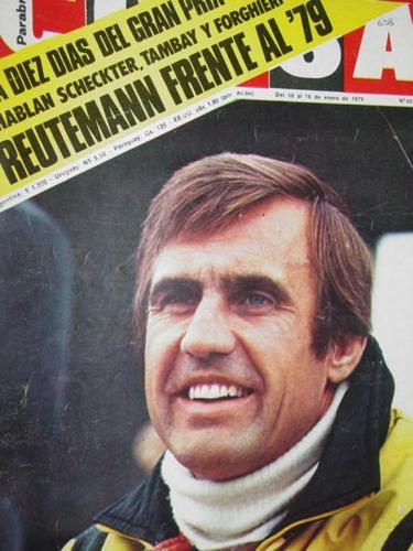 revista corsa 658 reutemann tambay forghieri lotus jaguar xj